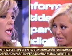 """Belén Esteban: """"He silenciado información comprometida de Lydia Lozano que si la digo nos cierran 'Sálvame"""""""
