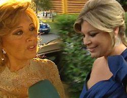 Multitud de rostros de la tele en la boda de Carmen Borrego, la hija de María Teresa Campos