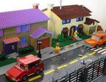 Lego recrea la ciudad de Springfield ('Los Simpson') en una maqueta