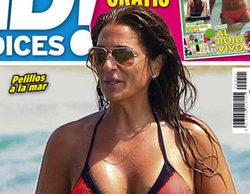 Raquel Bollo ('Sálvame') luce bikini en la revista ¡Qué me dices!