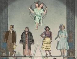 Primer póster oficial de 'American Horror Story: Freak Show'