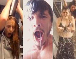 Los actores de 'Juego de tronos' cumplen el reto del cubo de agua helada