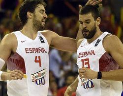 La victoria de la selección española de basket frente a Francia otorga a Cuatro un impresionante 22,7%
