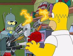Primera imagen oficial del crossover entre 'Los Simpson' y 'Futurama'