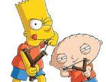 El crossover entre 'Los Simpson' y 'Padre de Familia', protagonista de las portadas de Entertainment Weekly