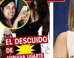 """Adriana Ugarte se pierde """"entre costuras"""" y tiene un descuido con la falda"""