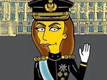 La reina Letizia Ortiz, dibujada como un personaje de 'Los Simpson' en un blog satírico