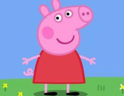 'Peppa pig' consigue un estupendo 4,7% en la tarde de Clan