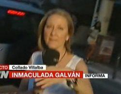 """Intentan atropellar a Inmaculada Galván en directo: """"No quieren que estemos aquí"""""""