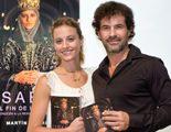 """Michelle Jenner y Rodolfo Sancho en la presentación de """"Isabel. El fin de un sueño"""", la tercera novela de la serie"""