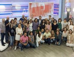 Juanra Gonzalo se ha despedido este martes de 'El programa de Ana Rosa'