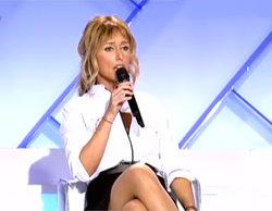 "Emma García se enfrenta a Ángel ('MYHYV'): ""Para chula está la presentadora"""