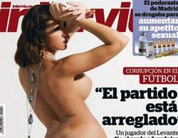 Steisy, pretendienta de Ángel en 'Mujeres y hombres y viceversa', posa desnuda para Interviú