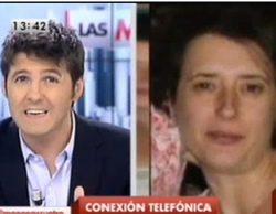 """Teresa, la infectada con ébola, concede su primera entrevista televisiva a 'Las mañanas de Cuatro': """"Me enteré por el móvil"""""""