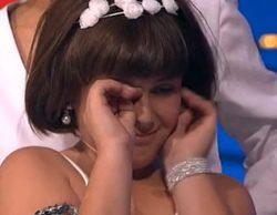 """Carla ('Tu cara me suena mini') llora tras saber que imitará a Miley Cyrus: """"No me gusta, es guarra"""""""