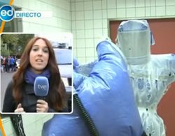 'España directo' emite imágenes de un hospital alemán equipado para el ébola mientras hablaba del Hospital Carlos III