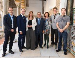 Susana Díaz, presidenta de Andalucía, acude al rodaje de 'Juego de tronos'