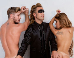 Oriana Marzoli y Tony Spina se desnudan en la revista Primera Línea