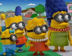 'Los Simpson' se transforman en Minions