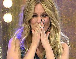 """Una emocionada Edurne se despide de 'Todo va bien' al ritmo de """"Sonrisas y lágrimas"""""""