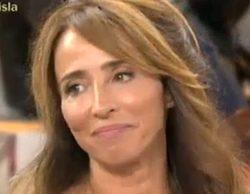 María Patiño protagoniza un comentado descuido en 'Sálvame deluxe' al enseñar su ropa interior