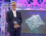 'Hay una cosa que te quiero decir' (13,3%) sube ligeramente con la marcha de Jordi González