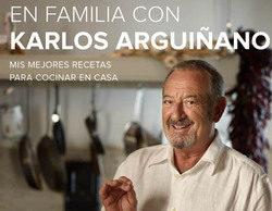 """""""En familia con Karlos Arguiñano"""", nuevo libro del cocinero de Antena 3"""