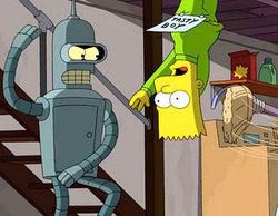 """Así será """"Simpsorama"""", el crossoser entre 'Los Simpson' y 'Futurama'"""