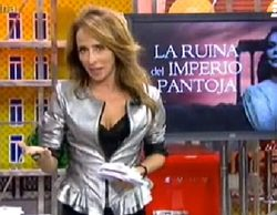 """'Sálvame deluxe' (18,7%) domina con """"la ruina del imperio Pantoja"""" y 'laSexta columna"""" (13,8%) se dispara con Pablo Iglesias"""