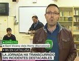 laSexta pilla a Oriol Junqueras contando los votos de la consulta soberanista del 9N