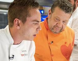 'Top Chef' sube hasta el 17,3% y anota la mejor marca de su segunda temporada
