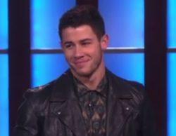 Nick Jonas se desnuda en el programa de Ellen Degeneres