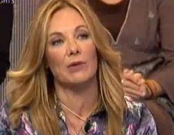 """Belén Rodríguez a Omar: """"Conmigo no seas maleducado, córtate un pelín y tranquilito"""""""