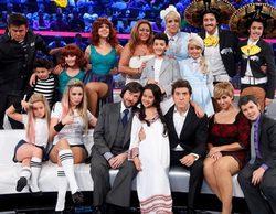 Abril, Carla, Nayra y Julia, finalistas de 'Tu cara me suena Mini'