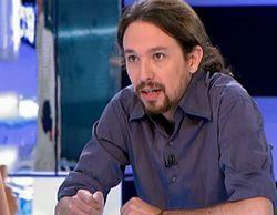"""Pablo Iglesias en 'El objetivo': """"Que a nosotros no nos entrevisten en TVE es una vergüenza"""""""