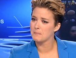 """María Casado rompe a llorar y pide disculpas a Curri Valenzuela: """"Por mi culpa se está llevando un disgusto fuerte"""""""