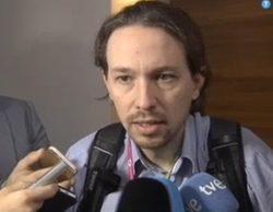 Pablo Iglesias reprocha a una reportera tener una actitud machista al preguntarle por Tania Sánchez