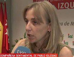 """TVE se refiere en sus informativos a Tania Sánchez como la """"compañera sentimental de Pablo Iglesias"""""""