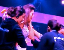 Un espectador abofetea a la presentadora del reality 'India's Raw Star' por llevar un vestido demasiado corto