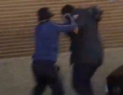 Un cámara de Mediaset agredido mientras acompañaba el coche con el féretro del ultra asesinado el domingo