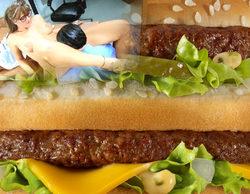 Una película porno se cuela en un canal deportivo para perplejidad de los clientes de un McDonald's