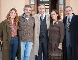 TVE finaliza el rodaje de la TV movie 'Fassman', protagonizada por Juanjo Puigcorbé y Mercedes Sampietro