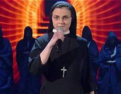 Telecinco trae a Sor Cristina, la monja que ganó 'La voz Italia', en Nochebuena