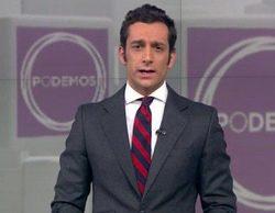 Polémica por la aparición en Antena 3 del logo de Podemos durante la noticia del ataque a la sede del PP
