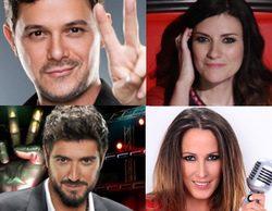 Alejandro Sanz, Laura Pausini, Malú y Antonio Orozco, los coaches de la tercera edición de 'La Voz'