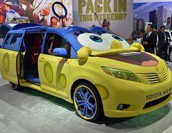 'Bob Esponja' se transforma en un coche como reclamo publicitario de una conocida marca de automóviles