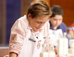 """Víctor ('Masterchef Junior') sancionado por un comentario machista: """"Las chicas ya sabéis limpiar, genéticamente"""""""