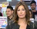"""Ana Rosa: """"No sólo es un atentado contra la libertad de expresión, es un durísimo golpe contra el corazón de la democracia"""""""