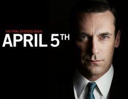 El 5 de abril comenzarán a emitirse los siete últimos capítulos de 'Mad Men'