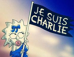 'Los Simpson' rinde homenaje a las víctimas de Charlie Hebdo